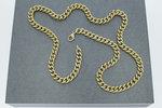14 karaat gouden Gourmet schakelketting - 57 cm