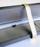 Brede gouden schakelarmband- 18,5 cm