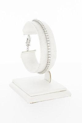 18 Karaat gouden Tennis armband met Diamant 3.65 crt-18 cm