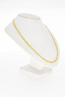 14 Karaat geel gouden Rolex schakelketting -  54 cm