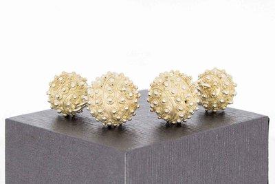Zeeuwse Knop zilveren ( 835 ) Manchetknopen
