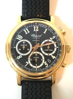 Gouden heren Horloge Chopard Mille Miglia