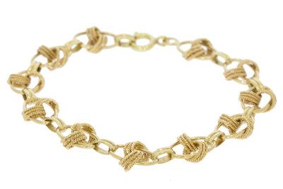 14 K Gouden armband - 18,5 cm
