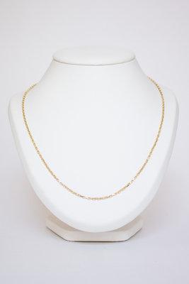 14 K Gouden Anker Ketting- 56 cm