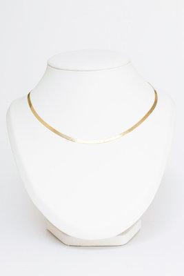 Gouden Slangen Collier