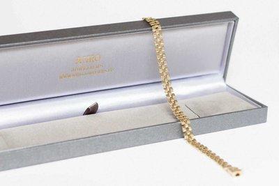 14 K Gouden Armband met Bakslot - 19,5 cm VERKOCHT