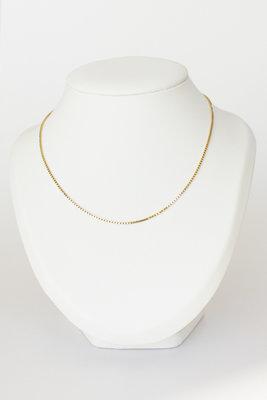 14 karaat geelgouden Venetiaans collier - 45,5 cm
