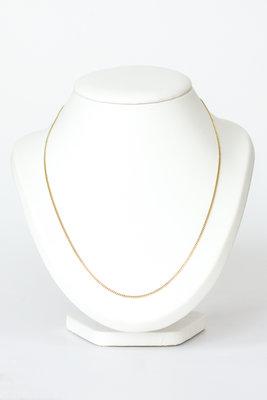 14k gouden Gourmet ketting - 62 cm VERKOCHT
