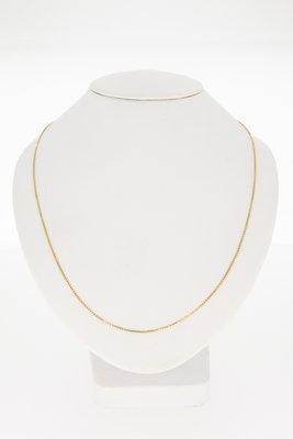 14 Karaat geelgouden Venetiaans collier - 46,5 cm