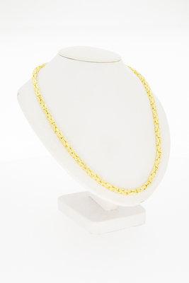 14 Karaat  geelgouden Koningsketting (Byzanthijns) - 60 cm