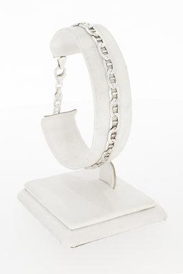 Zilveren Anker schakel armband (925) - 19,5 cm