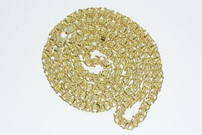 14 karaat gouden `Rolex` Koningsketting- 71 cm