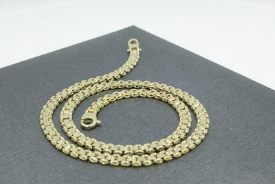 14k gouden ketting- 45,5 cm