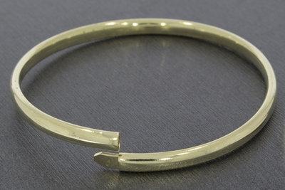 14 karaat geel gouden Slaven armband