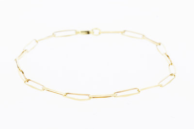 Gouden Closed Forever Armband - 19 cm VERKOCHT