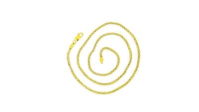Gouden vossenstaart ketting - 42 cm VERKOCHT