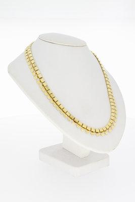 14 karaat geelgouden Collier met bakslot - 45 cm