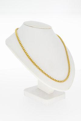 14 karaat geelgouden Venetiaans Collier - 45 cm
