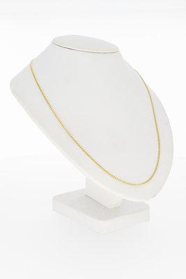 14 karaat gouden Gourmet schakelketting - 44,5 cm