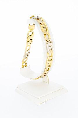 18 karaat bicolor gouden Rolex schakelarmband - 24,3 cm VERKOCHT