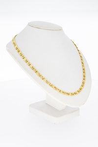 14 Karaat geel gouden Rolex schakel Collier - 42,5 cm