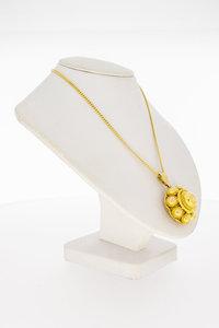 14 Karaat geel gouden Zeeuwse Knop kettinghanger