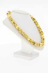 18 Karaat gouden Byzantijnse Koningsschakel ketting - 51 cm
