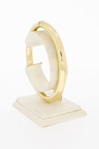 8 Karaat (geel) Slavenarmband (diameter 53,8 x 64,9 mm)