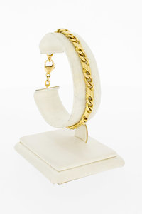14 Karaat gouden Infinity Gourmet armband - 19,1 cm
