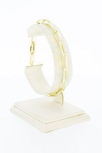 14 Karaat gouden Closed Forever schakelarmband - 20,5 cm