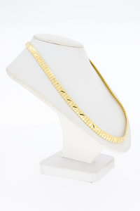 18 Karaat geel gouden (bewerkt) Omega Collier - 44,3 cm