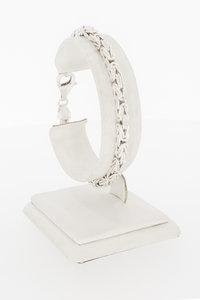 Zilveren koningsarmband- 20 cm