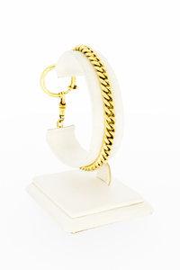 14 karaat gouden Gourmet armband met fraaie sluiting - 20 cm