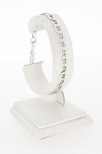Zilveren Anker schakelarmband