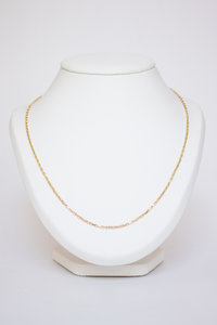 14 karaat geel Gouden Anker Ketting - 56 cm