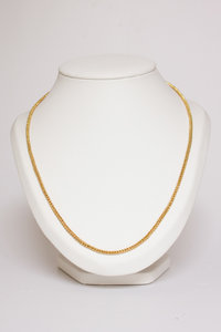 14 Karaat gouden (dubbel te dragen) Gourmet Collier-100 cm