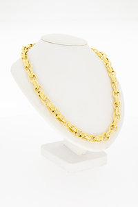 Gouden Anker schakelketting- 46 cm