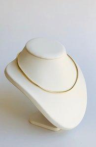 14 karaat geelgouden Omega schakel Collier - 46 cm