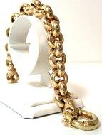 14-K-Gouden-Jasseron-Slot-Armband-5627-gr-13-mm-21-cm--Verkocht-