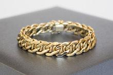 14-K-Gouden-gevlochten-schakel-armband