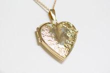 Gouden Hart Medaillon