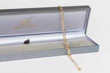 14-K-Gouden-Figaro-Armband-22-cm