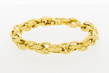Gouden Anker schakelarmband- 20 cm