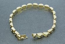 Gouden armband- 18,5 cm