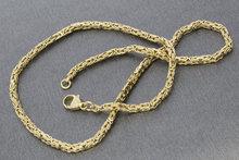 14k gouden koningsketting- 43 cm